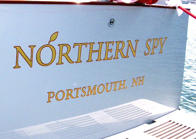 Northern Spy with logo artwork to work from.