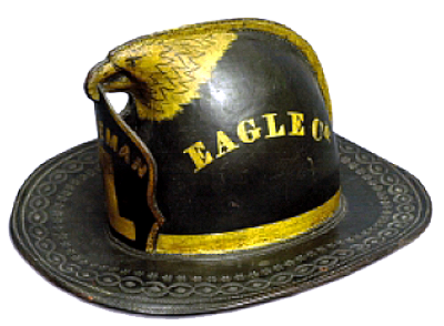 Click here to go to an archive of art and decoration on fire fighting equipment. .