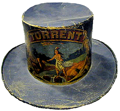 Parade hat for the Torrent Engine Co.