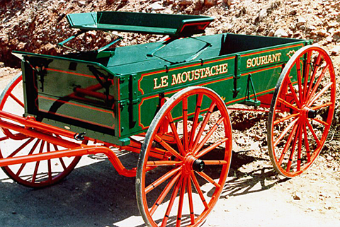 Wagon built by Southwest Wagon & Wheel Works