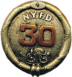 badge from NY Hose Co. 30