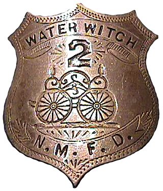 badge of Water Witch Hose Col