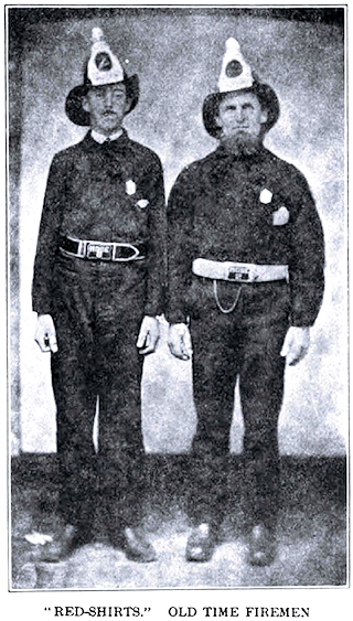 Two old time firemen.