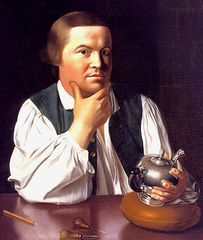 Paul Revere; fireman, artisan and  founding father.