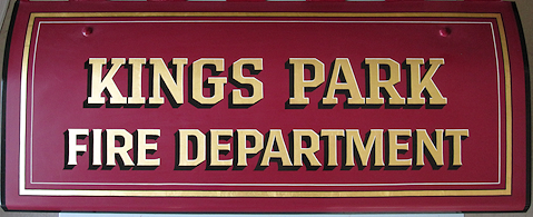 American LaFrance fire engine lettering styles.